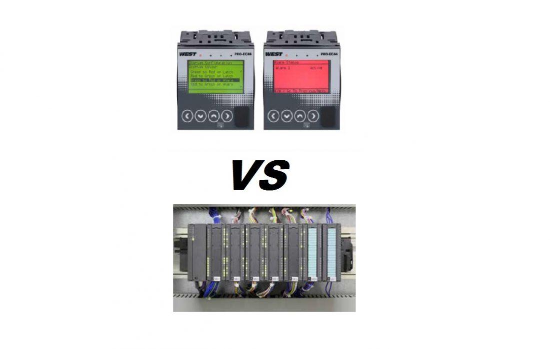 West CS: 5 razões para usar um controlador de temperatura ao invés de um CLP