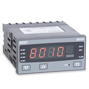 indicador temperatura processos 8010 west
