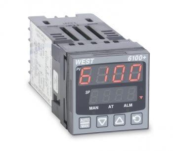 c065c0a48dc43 Foto do produto Controlador de Temperatura e Processos WEST 6100+
